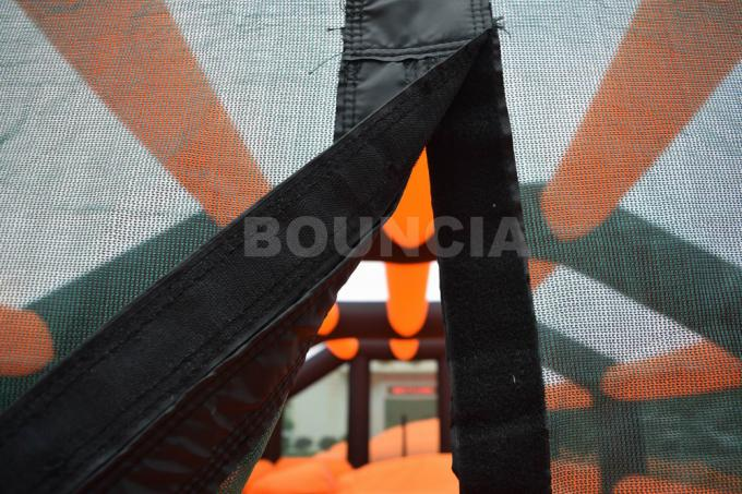 PVC 210D a enduit la tente de Paintball/arène gonflables en nylon de Paintball des ventilateurs