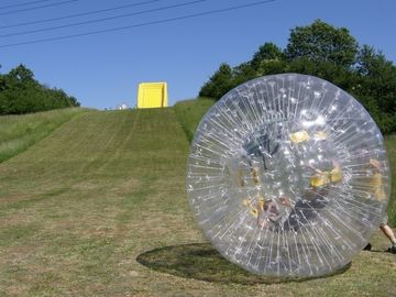 ballon gonflable zorb