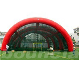 Chine arène gonflable de Paintball de bâche de PVC de 0.4mm/champ gonflable de Paintball usine