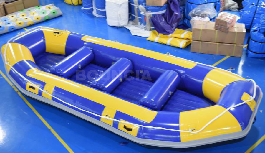 River Inflatable Rafting Boat / Inflatable Drift Boat