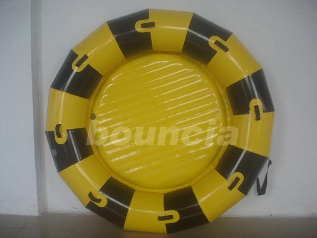 Round Inflatable Towable Banana Boat / Inflatable Towable Boat Used In Lake Or Sea
