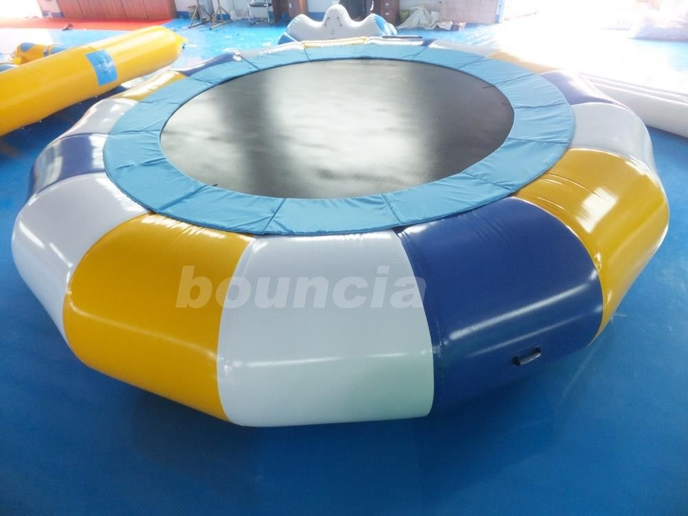 Commercial Grade And Durable Round Inflatable Water Trampoline